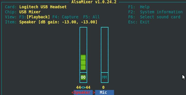 Fix low volume issue in Ubuntu 11.04